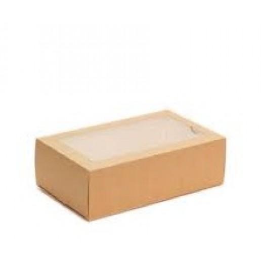 Упаковка для макаронс 12 шт ECO MB 12 180*110*55 мм, Картонная упаковка, бумажные крафт пакеты