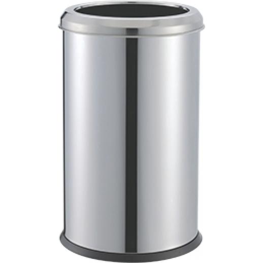 ЭФОР Корзина-Урна для мусора 16л, хром б/кр, Уборочный инвентарь