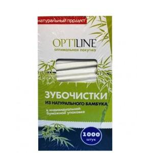 Зубочистки в инд бумажной упаковке 1000 шт OPTILINE 10-2974/2021