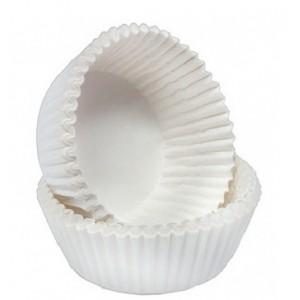 Капсула бумаж трюфель №120 белая 1000 шт 66142
