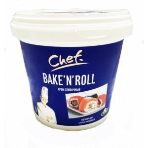 Сыр крем сливочный Арла Chef Bake'n Roll 25% 1,5 кг