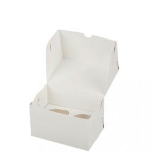 Упаковка для капкейков на 2 шт 100*160*100 мм