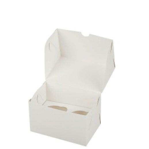 Упаковка для капкейков на 2 шт 100*160*100 мм, Тортницы, коробки для торта и пирожных