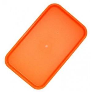 Поднос 53*33 см оранжевый Россия