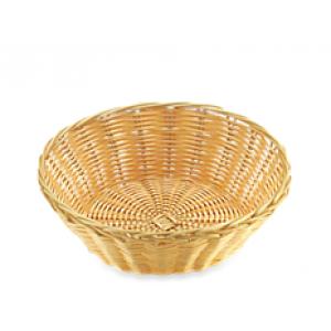 Хлебница плетеная ротанг беж круглая 20*6 см 03002