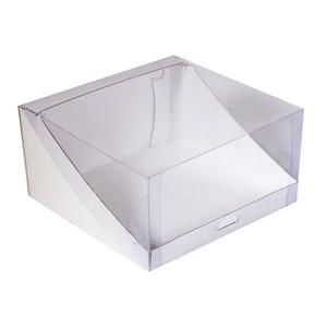 Упаковка для торта с прозрачной крышкой 225*225*100