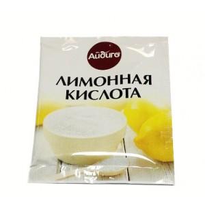 АЙДИГО Лимонная кислота 25 гр пакет