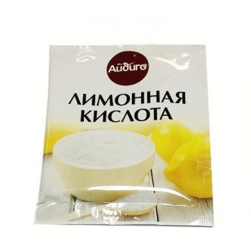 АЙДИГО Лимонная кислота 25 гр пакет, Кондитерские ингредиенты