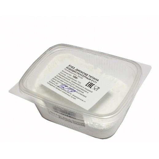 Краситель белый сухой ДИОКСИД ТИТАНА 100 гр 5103, Диоксид титана (белый краситель)