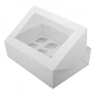 Упаковка для капкейков на 12 шт ОКНО