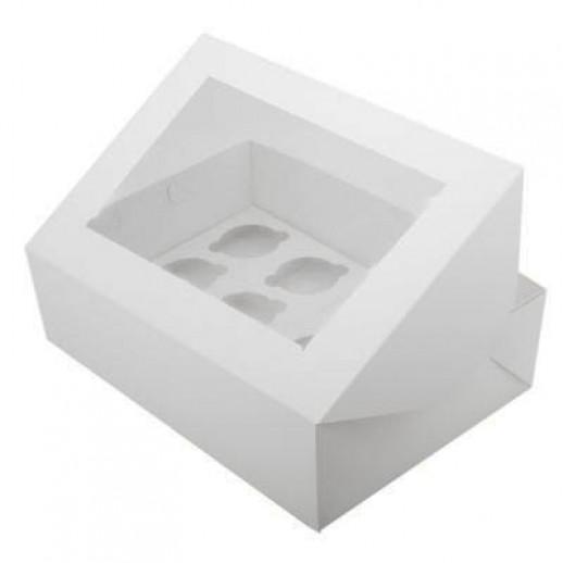 Упаковка для капкейков на 12 шт ОКНО, Тортницы, коробки для торта и пирожных