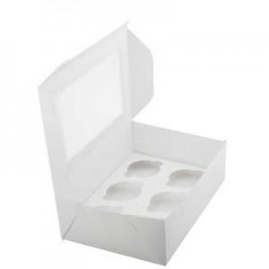 Упаковка для капкейков на 6 шт ОКНО 250*170*100 мм