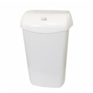 Корзина для мусора 11л Lime подвесная с держателем мешка белая 974110