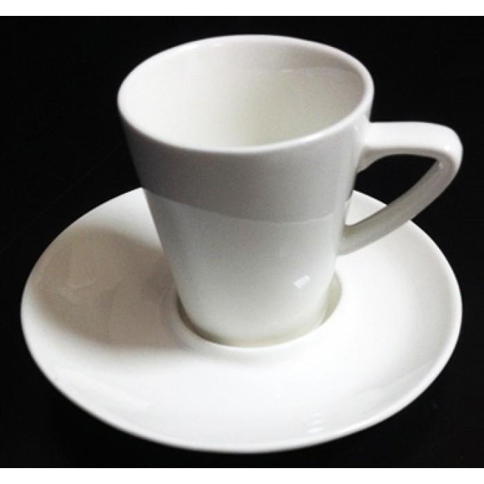 Кофейная пара 90 мл Le Cafe-Art collection PL70300104, Фарфоровая посуда KUNST WERK P. L.