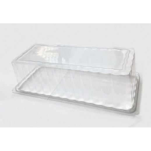 Крышка для подносов МЕДОРО 15*35 см 36151, Подложки и подносы для тортов