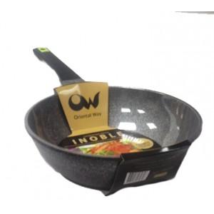 Сковорода вок INOBLE d 28 см QMI28