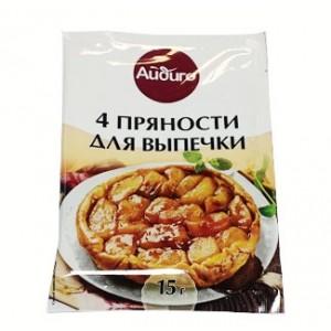 АЙДИГО 4 пряности для выпечки 15 гр