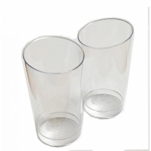 Креманка одноразовая пластик 150 мл Коническая 10шт/уп 21961, Одноразовая посуда, пластиковые контейнеры
