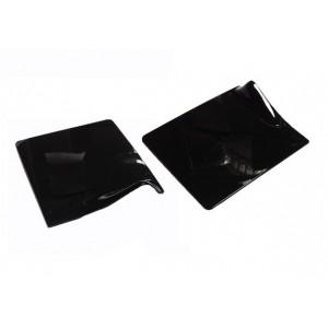 Подложка пластик черная прямоуг 9*10,5 см 40 шт 34109