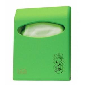 Диспенсер для покрытий на унитаз Lime COLOR mini зеленый 66210VES