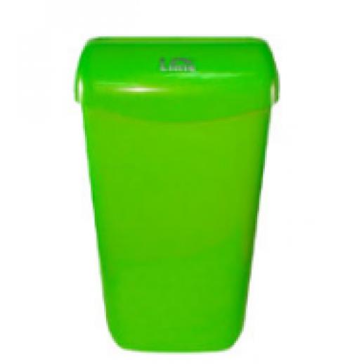 Корзина для мусора Lime 23л подвесная зеленый COLOR 74201VES, Уборочный инвентарь