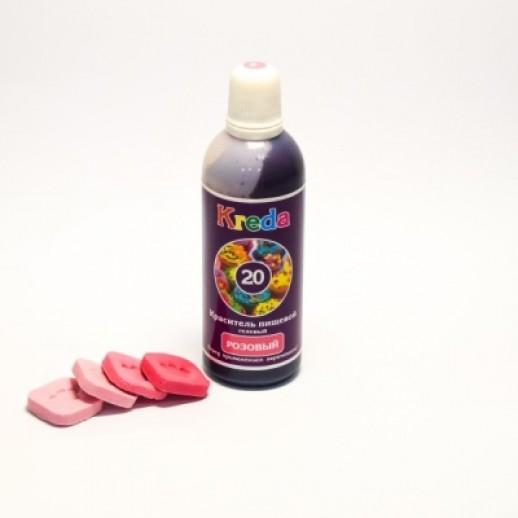 КРЕДА Краситель гелевый розовый 25 гр Россия, Краситель гелевый (Россия)