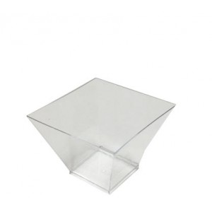 Креманка одноразовая пластик 200 мл Средняя погода б/крышки 12шт/уп 21960