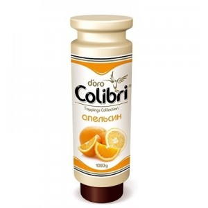 Топпинг Золотая Колибри Апельсин 1 кг НОВИНКА
