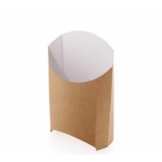 Упаковка ECO FRY L 126*135*40, Картонная упаковка, бумажные крафт пакеты