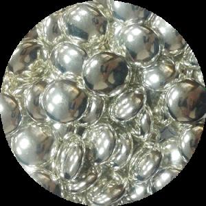 КОНФЕТТИ шоколад серебро 100 гр 33034
