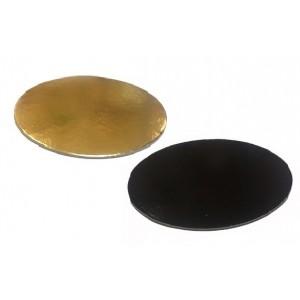 Подложка усилен золото/черн 200мм 65234