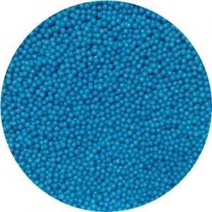 Посыпка сахарная шарики голубые 1 мм 100 гр 19862