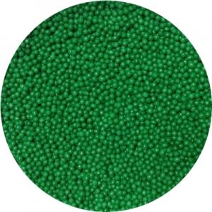 Посыпка сахарная шарики зеленые 1 мм 100 гр 19886