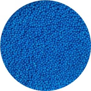 Посыпка сахарная шарики синие 1 мм 100 гр 19947