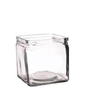 Банка для подачи стекло 10*10*10 см 600 мл PL 81200134