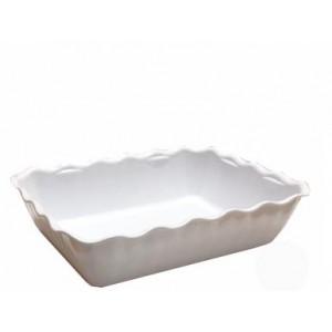 Салатник с волнистыми краями 4 л белый Restola 422108216