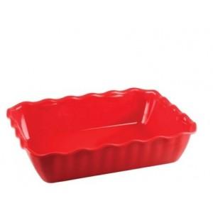 Салатник с волнистыми краями 4 л красный Restola 422108204