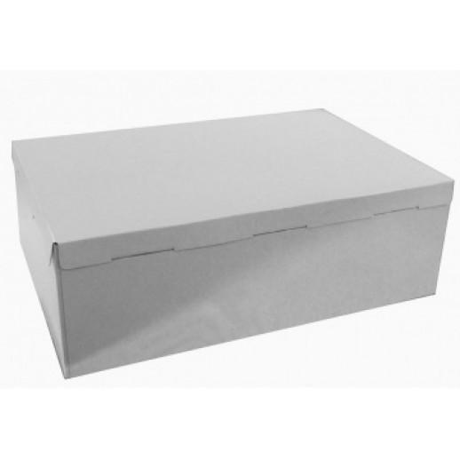 Короб картонный бел Pasticciere 600*400*210 мм, Тортницы, коробки для торта и пирожных