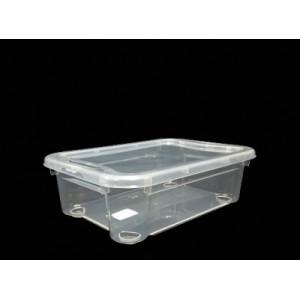 Контейнер для пищ продуктов прямоуг 2,8 л 27*19*8,8 см п/п Кристалл RESTOLA 43127490121