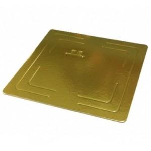 Подложка усилен золото/жемчуг квадрат 300*300мм (толщ3,2мм) GWD300*300
