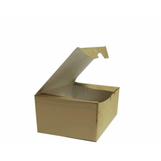 Упаковка ECO Fast Food Box S 115*75*45, Картонная упаковка, бумажные крафт пакеты