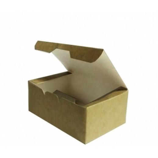 Упаковка ECO Fast Food Box L 150*91*70, Картонная упаковка, бумажные крафт пакеты