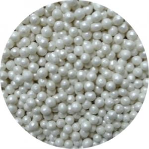 Посыпка сахарная шарики белый жемчуг 3 мм 100 гр 36814