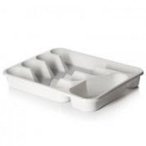 Емкость для столовых приборов 33*26,5*4,5 см 13421