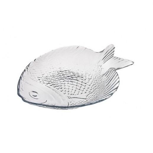 Тарелка стекло Рыба/марине 198*158 10256, Креманки и салатницы