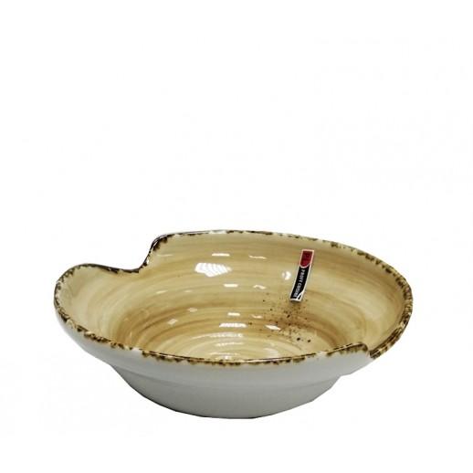 Салатник 750 мл d 21 см Organica Sand Fusion PL 73037909, Фарфоровая посуда KUNST WERK P. L.