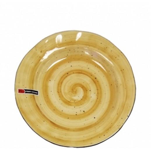 Тарелка d 27 см Organic Fusion PL 73024273, Фарфоровая посуда KUNST WERK P. L.