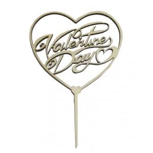 Топпер День святого Валентина дерево 777408
