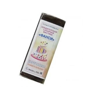 Мастика 0,1 кг сахарная коричневая универсальная ФАНСИ