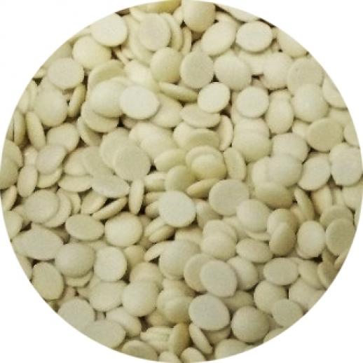 Шоколад Белый 31 % Ариба Мастер Мартини диски 0,5 кг 36/38 Италия 20070, Шоколад, шоколадная глазурь